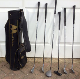 GOLF CLUB SET WITH BAG AND ACCESSORIES