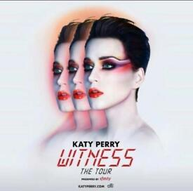 Katy Perry Witness Tour 2x Ticket Newcastle Arena
