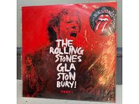 The Rolling Stones - Glastonbury! part 1 - Argentinian release Still sealed. Vinyl LP