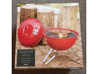 Brand New Un Boxed Tesco BBQ, Barbecue. Portable Charcoal BBQ, perfect for camping or caravan trips