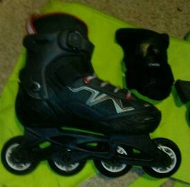 Oxelo childs inline skates, size 13