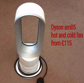Dyson am05 hot and cold fan