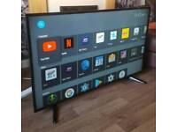 """GOODMANS 50"""" SMART 4K UHD ANDROID TV FREEVIEW WIFI ETC"""