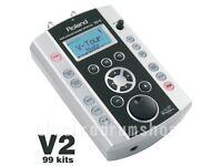 ROLAND V DRUMS TD-9 V2 module electronic brain trigger loom psu mount VEX PACKS