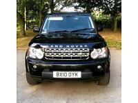 2010 10 LAND ROVER DISCOVERY 4 3.0 TDV6 XS - 7 SEATER DIESEL 4x4