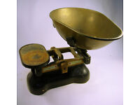 Collectable Vintage W T Avery Large Shop Scales (WH_1898)
