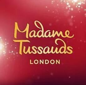 Madame Tussaud's -2 tickets for only £20! Worth £70! CHOOSE your dates