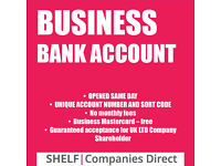 UK LTD COMPANY SAME DAY BANK ACCOUNT OPENING
