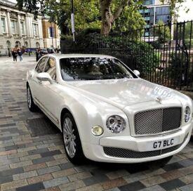 Bentley Mulsanne 2017 Plate £195 One Way Wedding Car Hire | Prom Car Hire