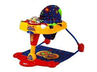 Fisher-Price Baby Fold Flat 2 in 1 Playzone Hop 'n' Pop Activity Centre