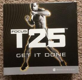 Focus T25 work out dvd