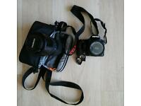 70 ono Pentax k100D super with free zoom lense. Great camera