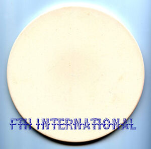 7 round ceramic bisque trivet tile candle base coaster for Ceramic based paint
