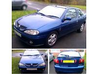 Renault Megane Sports Coupe 1.6 16v 1999 ** Low Mileage **