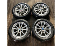 BMW ALLOYS & GREAT TYRES from an X3 SUV