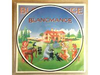 Blancmange ‎– Happy Families Picture disc original 1982. Mint.