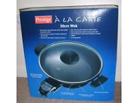 ELECTRIC WOK PRESTIGE A LA CARTE 30CM *BRAND NEW*