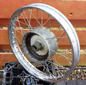 AJS/Matchless - 1954 Full width hub Front Wheel