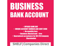 UK LTD COMPANY BANK ACCOUNT
