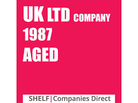 1987 UK LTD COMPANY LIMITED DORMANT AGED PRESTIGE SHELF BUSINESS BANK ACCOUNT