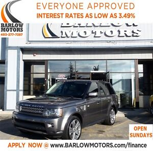 2011 Land Rover Range Rover Sport Supercharged -Fully Loaded-Nav