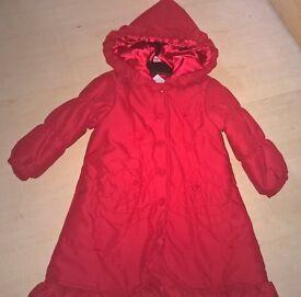 Girls DANI coat by Sarah louise age 4YRS STUNNING !!!