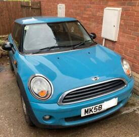 image for 2008 mini one spares or repair