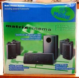 MAGNAT MATRIX CINEMA - SUBWOOFER PLUS 5 SPEAKERS