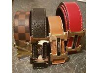Ferragamo , lv , hermes belts for sale bargain !!