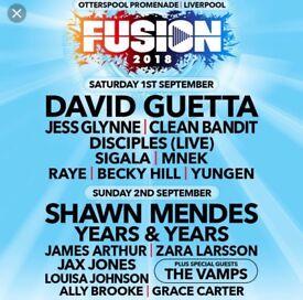 Fusion Fesitval Tickets x2