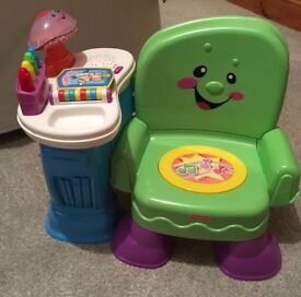 Fisher Price Musical Laugh and Learn Chair