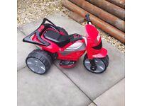 Evo self propelled motorized battery operated Trike