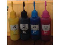 Epson pigment inks 50ml 4 colours refills