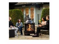 Fire Pit or Cooking Grilling BBQ is also great heater for your garden patio area classic design