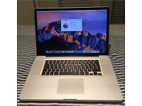 """Apple MacBook Pro 17"""" 2.2GHz i7 quad, 8GB ram, 480GB SSD, 1GB Radeon 6750"""
