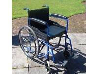 Self propelling wheel chair