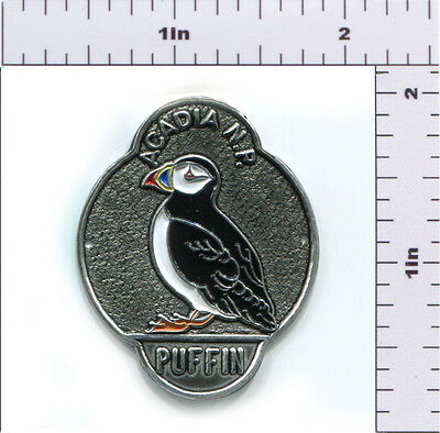 Hiking Staff Medallion Stocknagel-Acadia Puffin (AC-4)