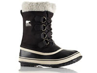 Womens Winter Carnival Sorel Boots in Black size UK5 EU 38