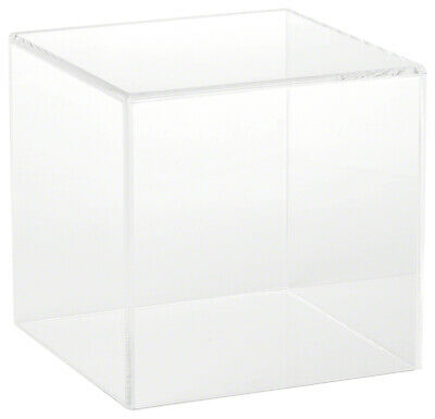 Plymor Clear Acrylic Display Case With No Base 6 X 6 X 6