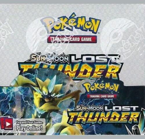 Купить Pokemon - Pokemon Lost Thunder Sun & Moon Booster Box Factory Sealed