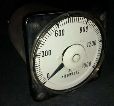 Yokogawa Ab-40 0-1500 Ac Kilowatts Meter