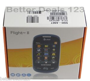 New Unlocked Samsung Flight II SGH-A927  Black (AT&T) 3G Cell Phone QWERTY Touch