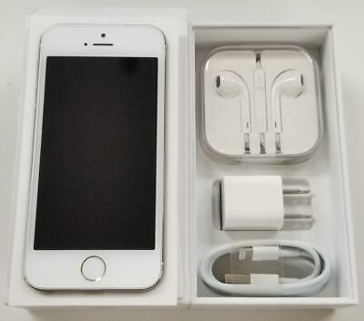 Apple iPhone 5s 16GB Silver Unlocked A1533 GSM