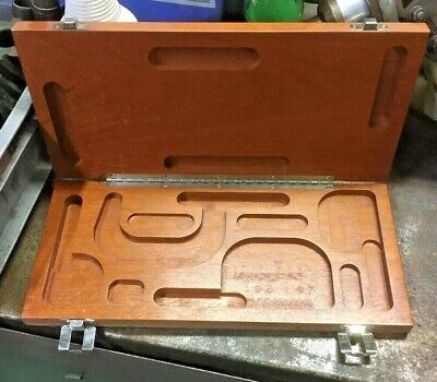 Brown Sharpe Wood Case 599-181-9998 For 4 Piece Micrometer Set 0-1-2-3-4