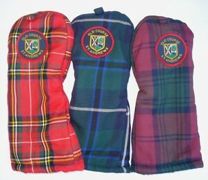 GOLF-GIFT-ST-ANDREWS-OLD-COURSE-FAIRWAY-WOOD-CLUB-HEADCOVER-COVER-NEW
