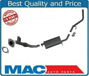 For 2001-2004 Nissan Frontier 2W/D Ext Cab  Exhaust System Muffler & Tail Pipe