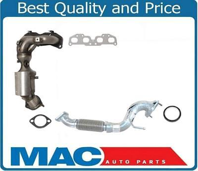 Front Manifold Converter  Flex Pipe For Nissan Rogue 08 12 All Wheel Drive