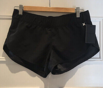 Hurley Supersuede Womens Black Board Shorts - Size Small / UK 8