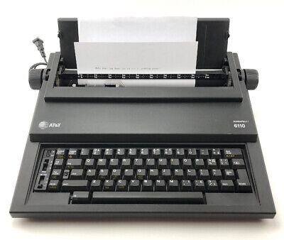 Electric Typewriter Att 6110 Surespell I 12 Carriage