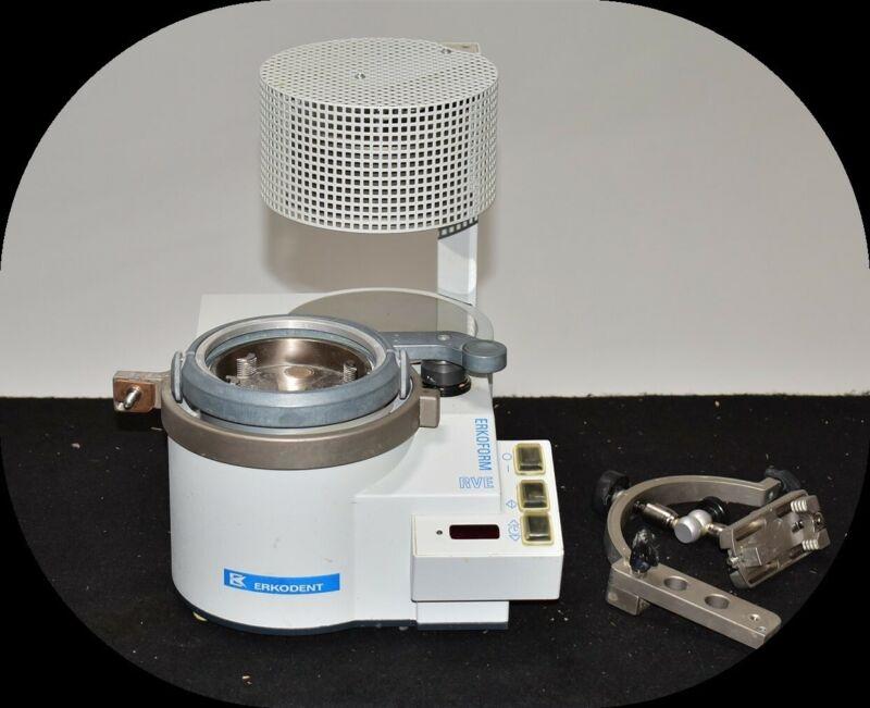 Erkodent Erkoform-RVE Dental Lab Vacuum Former Mouthguard Thermoformer 120V